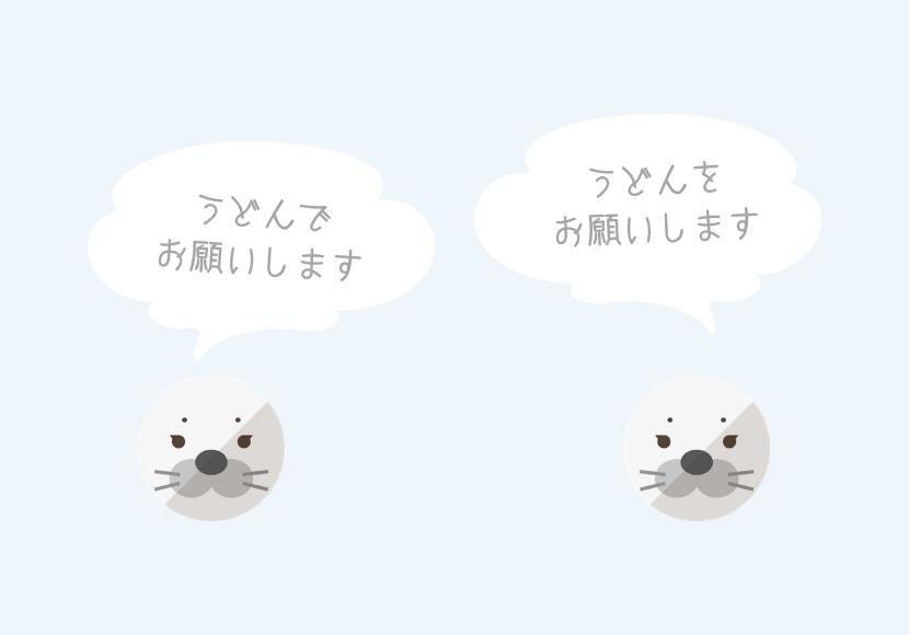 会話する人の図
